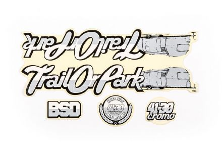 BSD Sticker Pack - Trailorpark Frame